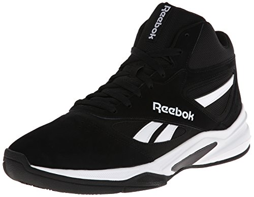 Reebok Men's Pro Heritage 1 Basketball Shoe, BlackWhite, 12