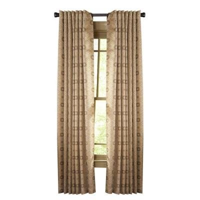 Nutshell Pageant Back Tab Curtain - 50 in. W x 84 in. L