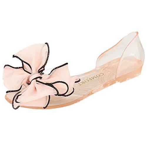 SUNAVY - Zapatos con tacón Mujer Rosa