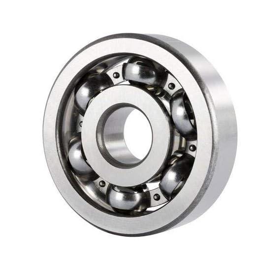 Raja Rubbers 6301-2Z Deep Groove Ball Bearing (Pack of 10) Inner Diameter = 12 mm; Outer Diameter = 37 mm; Thickness