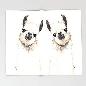 Amazon Society40 Llama Throw Blankets 40 X 40 Blanket Mesmerizing Llama Throw Blanket