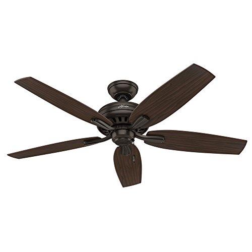 "Hunter 53320 Newsome Ceiling Fan, 52""/Large, Premier"