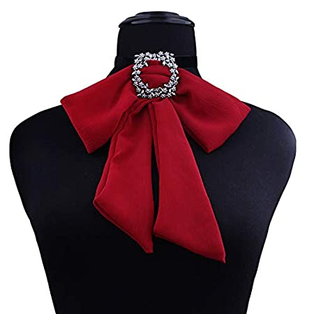 CRAZYON Collar Bohemio para Mujer, Corbata de Lazo, Ajustable ...