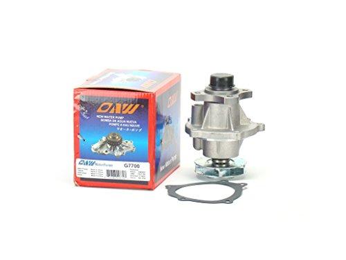- OAW G7700 Engine Water Pump for Buick Chevrolet GMC Hummer Isuzu Oldsmobile Saab L4 L5 L6 Engine 2002 - 2012