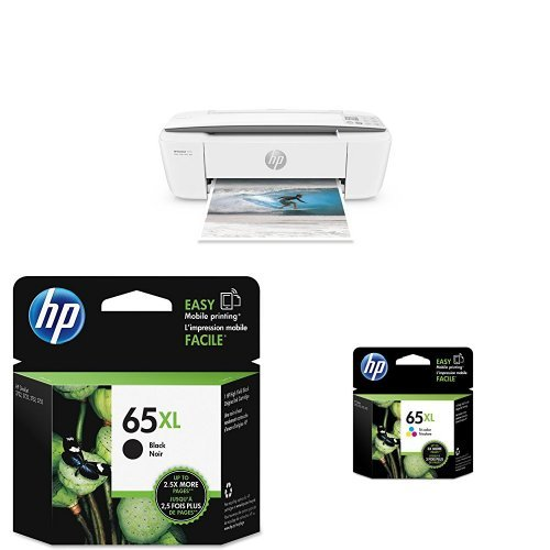 HP DeskJet 3755 Compact All-in-One Photo Printer with XL Ink Bundle by HP (Image #2)