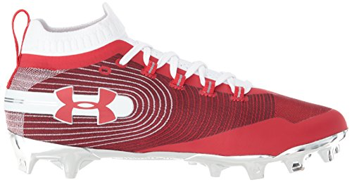 White Shoe Lacrosse Mc Spotlight Red Under Men's 600 Armour qwvx8p
