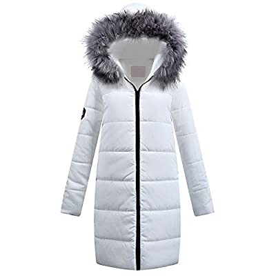 XOWRTE Women's Cotton Winter Parka Quilted Jacket Hooded Overcoat Outwear Down Coat