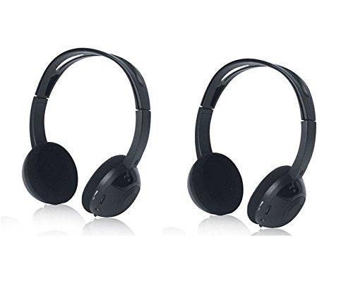Honda Odyssey, CR-V, Pilot Compatible Wireless DVD Headphones for Kids (Best Pilot Headset 2019)