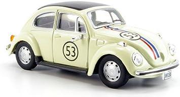 Vw Käfer No 53 Beige Modellauto Fertigmodell Cararama 1 43 Spielzeug