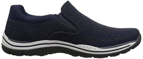 Expected Skechers Gomel 65086 Mens Shoes Navy 1xqHxU