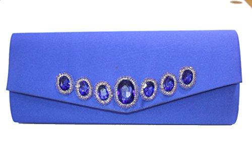 Wear & Walk UK , Damen Sandalen 43 Bag- R Blue