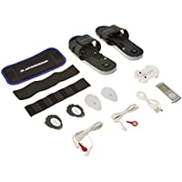 IQ Massager Pro IVs Combo with Belt & Slippers + Bonus 10Pk Replacement Pads