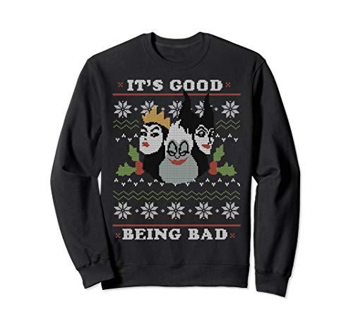 (Disney Villains Good Bad Ugly Christmas Sweater)