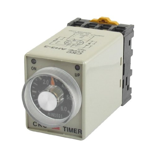 uxcell-ah3-3-ac-24v-0-6-minute-timer-power-on-delay-time-relay-8-pin-w-socket