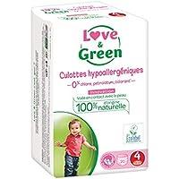 Love & Green - Paquete de 20 pañales