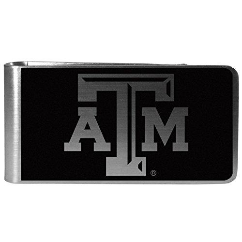 NCAA Texas A&M Aggies Black & Steel Money Clip ()