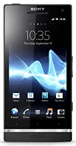Sony Xperia S LT26i-BK Unlocked Phone with 12 MP Camera, Android 2.3 OS, Dual-Core Processor, and 4.3-Inch Touchscreen--U.S. Warranty (Black)