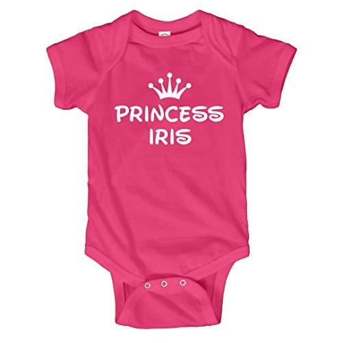 Iris Princess (FUNNYSHIRTS.ORG Baby Girl Princess Iris: Infant Bodysuit)