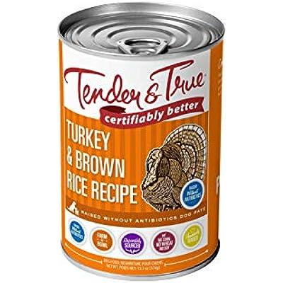 Tender & True Antibiotic-Free Turkey & Brown Rice Recipe Canned Dog Food
