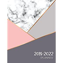 2018 - 2022 Planner: Agenda Planner For The Next Five Years, 60 Months Calendar,Monthly Schedule Organizer |Appointment Notebook, Monthly Planner, Action Day, Passion Goal Setting