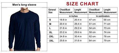 N4031L Ass... funny Long Sleeve t-shirt (XL, White Blue)