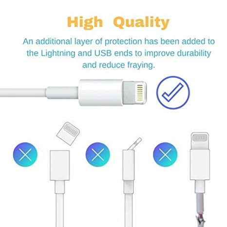 Amazon.com: OneCat cable cargador USB para Lighting Cable ...