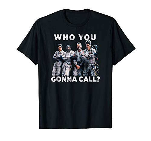 Adults, Kids Ghostbusters Crew Who You Gonna Call? T-shirt, S to 3XL