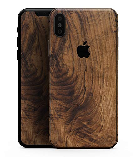 Raw Wood Planks V11 - Design Skinz Premium Skin Decal Wrap for The iPhone Xs MAX