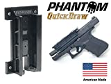 2. Phantom Quickdraw - Magnetic Gun Mount & Holster - Concealed Tactical Firearm & Gun Magnetic Holder for Truck, Car, Vehicle, Handgun, Pistol - Patent Pending, American Made, Veteran Owned