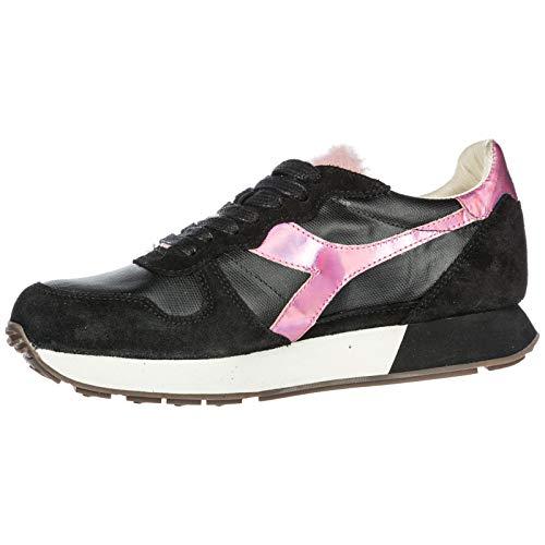 Zapatillas Deporte Nuevo Mujer Heritage Zapatos de Camaro Diadora negr h en Ante TqIwOEcf
