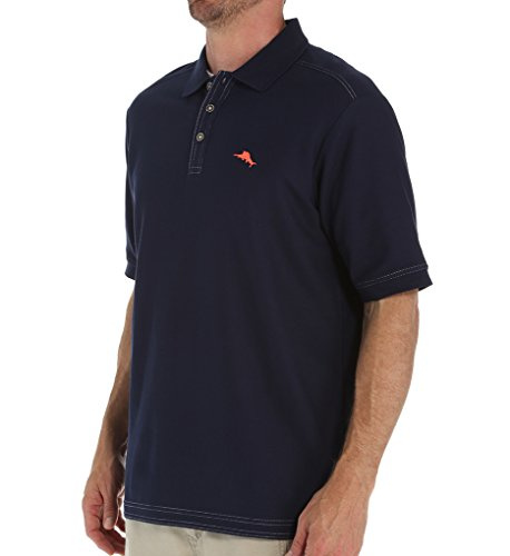 Tommy Bahama Mens The Emfielder Polo Shirt Blue Note Large