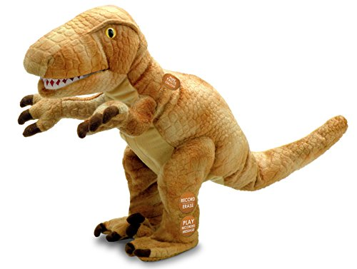 Chantilly Lane Record-A-Saurus - Velociraptor, Records Your Words and Replays with DinoVoice
