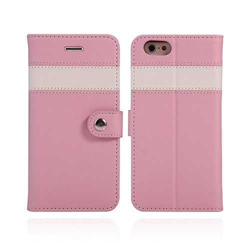 AceAbove iPhone 6S Wallet Case, Premium PU Leather Wallet Cover with [Card Slots] & [Stand] Function for Apple iPhone 6 (2014)/iPhone 6S (2015) – Pink by AceAbove (Image #3)