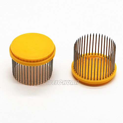 WEICHUAN 2PCS Beekeeping Needle-Type Queen Bee Cage Catcher- Beekeeping Equipment Bee Hive Hand Tool Beekeeper Tool