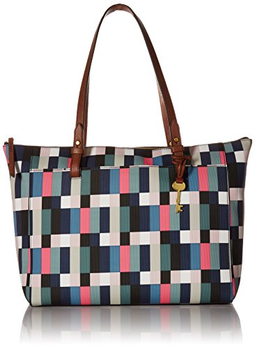 Fossil RACHEL TOP ZIP TOTE BAG, Bright Multi