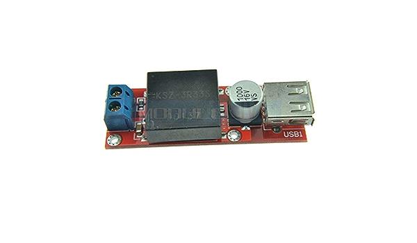 3,3 V DC-DC 7v-24 vers 3,3 V jaune Step Down Convertisseur de tension pour Arduino PIC 1 A