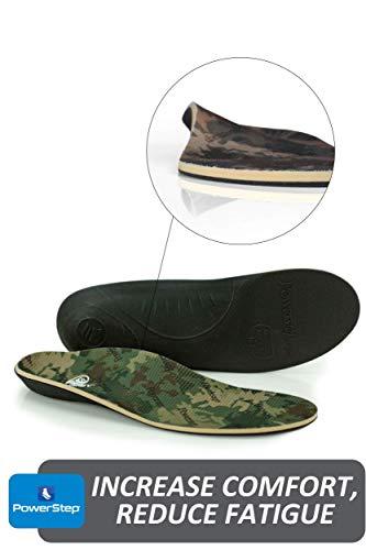 Powerstep Journey Hiker Insoles Athletic Sandal, Camo, Men's 5-5.5, Women's 7-7.5