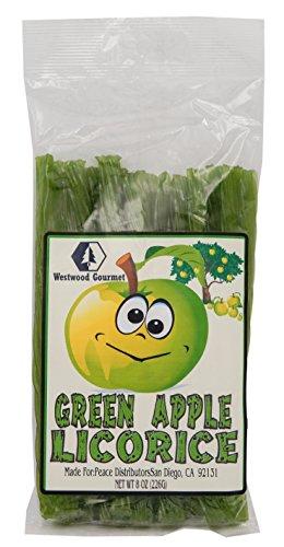 Westwood Gourmet Premium Flavored Licorice (Green Apple)