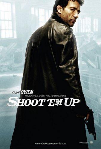 Shoot 'Em Up, Original 27x40 Double-sided Advance (Owen) Movie Poster