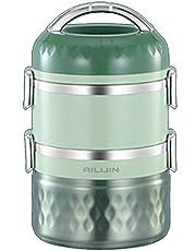 1-3-Tier Geïsoleerde Voedselpot Bento Lunchbox Container Houd Koud/Warm Voor 5 Uur Voor Kinderen, Aldult, Kantoor, School, Picknick, Reizen