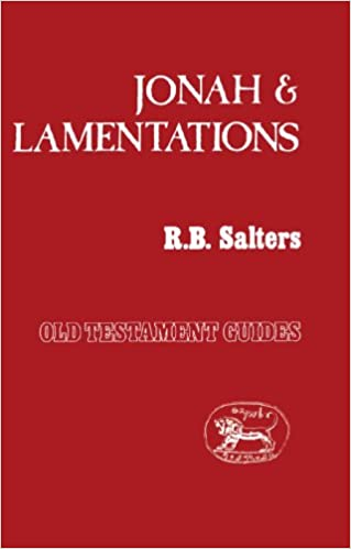 Book Jonah and Lamentations (Old Testament Guides)