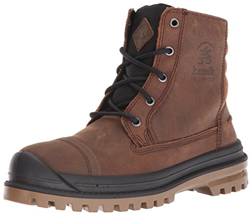 Kamik Men's Griffon Snow Boot, Cognac, 10 M US
