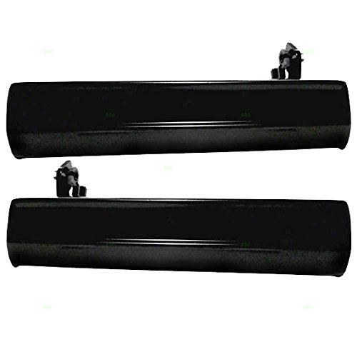 Pair Set Outside Door Handles Replacement for Oldsmobile Pontiac Chevrolet GMC Pickup SUV 15969376 20338488