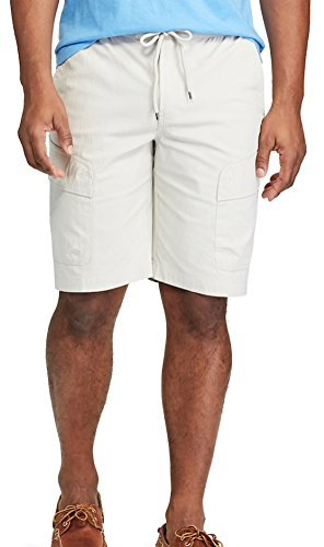 Chaps Men's Classic-Fit Stretch Performance Elastic Waist Cargo Shorts (XX-Large, Taylor ()