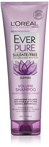 - L'Oréal Paris EverPure Sulfate Free Volume Shampoo, with Lotus Flower, 8.5 Ounces