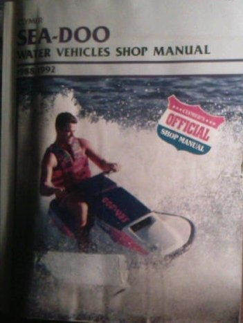 Clymer Sea-Doo water vehicles shop manual, ()
