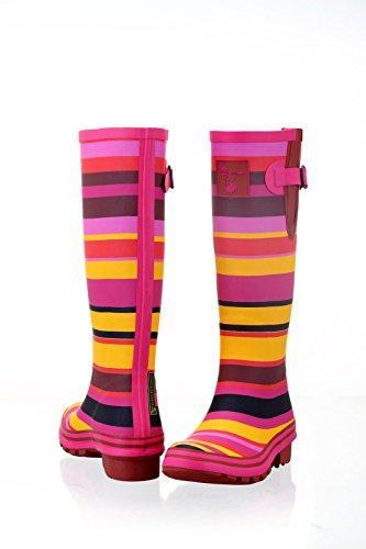 uk Hauteur Evercreatures Multicolores Du 8 Niveau 3 Au Pour Genou Multicolore Bottes Femme 5zExa5