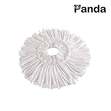 Microfiber Mop Head for Panda Spin Mops (1 Mop Head) MH1