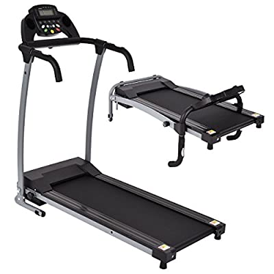 Apontus 800W Folding Treadmill Electric Portable Motorized Power Running Fitness Machine
