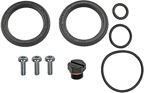 APDTY 112618 Fuel Filter Primer Housing Seal Kit Fits GM w/ 6.6L Turbo Diesel Chevrolet Silverado/GMC Sierra/Workhorse LF72, R26, P42, W72 (Check Fitment Chart; Replaces 12642623)